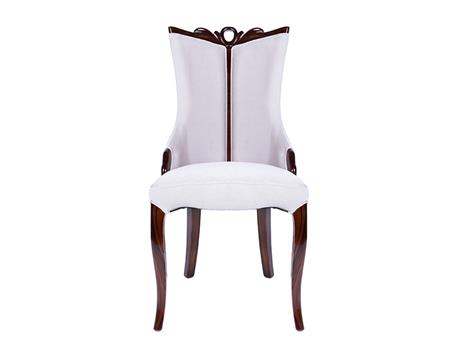 Paddic frabric wooden chair