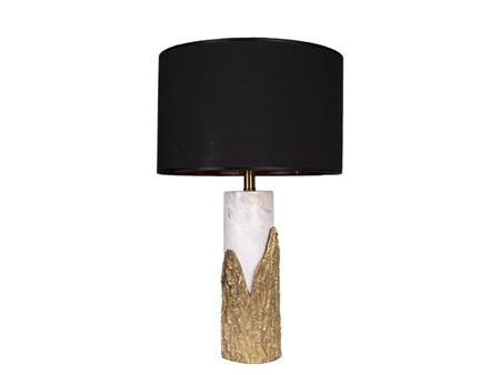 Gold Stone Base table lamp