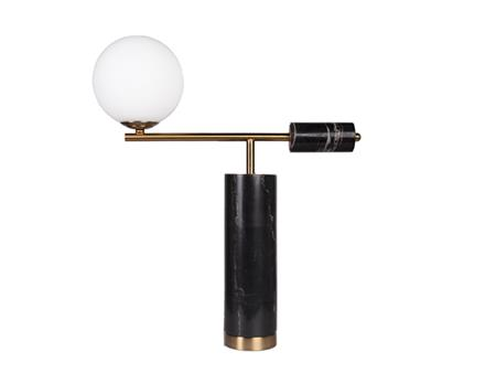 Retro Marble table lamp