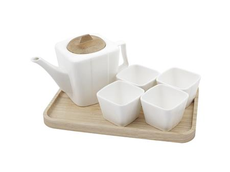 Teapot set with tray